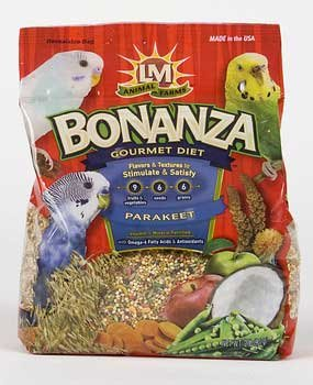 L/M Animal Farms B02288 6-Piece Para Keet Bird Food Bonanza, 2-Pound