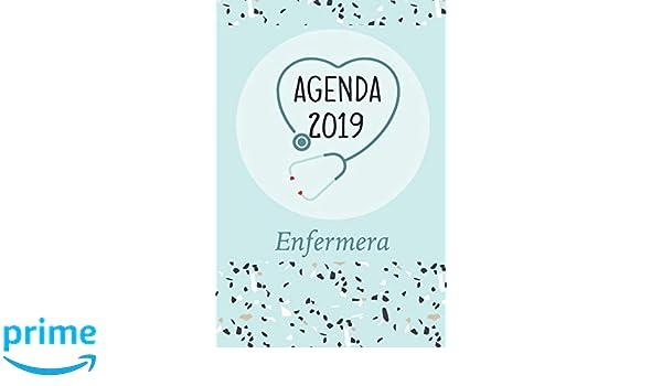 Agenda 2019 Enfermera: Agenda Mensual y Semanal + ...