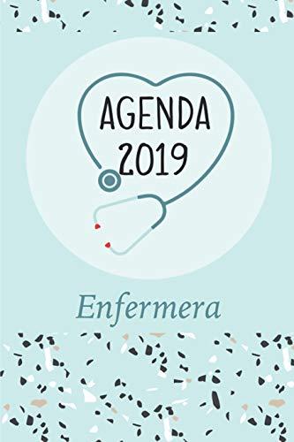Agenda 2019 Enfermera Agenda Mensual y Semanal + Organizador I Cubierta con tema de EnfermeraI Enero 2019 a Diciembre 2019 6 x 9in  [Poblana Journals, Casa] (Tapa Blanda)