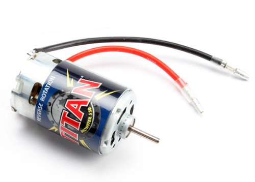- Traxxas 3975R Reverse Rotation Titan 550 Brushed Motor (21-turn 14V)