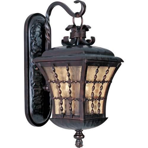 - Maxim Lighting Orleans Oil Rubbed Bronze 3-Light Outdoor Wall-Mounted Lantern 30495ASOI