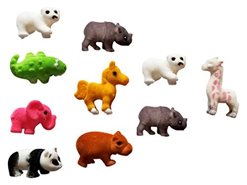 (RPMI FUJI Zoo animal assorted party favors 12 pack)