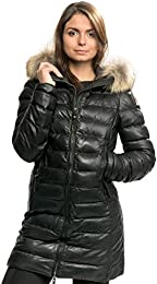 Demi Leather Womens Jacket