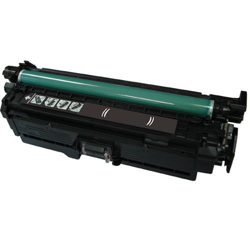 1PK HP CE250X Black Toner Cartridge for HP CM3530 CP3520 CP3525DN CP3525X CP3530(Toner Ctg, Black, Y=10.5k)