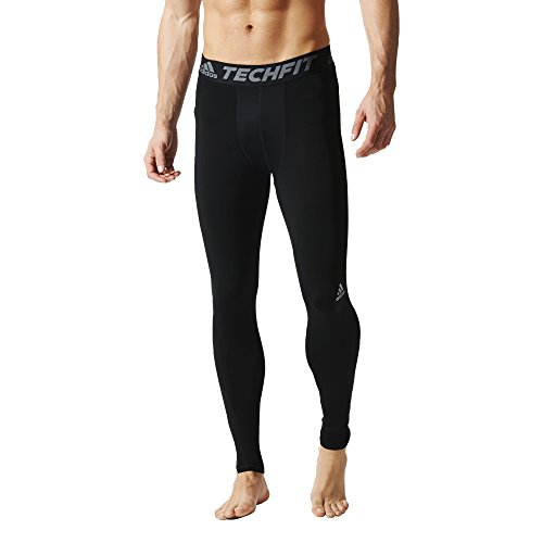 adidas Performance Men's Techfit Compression Long Tights, Black, X-Large
