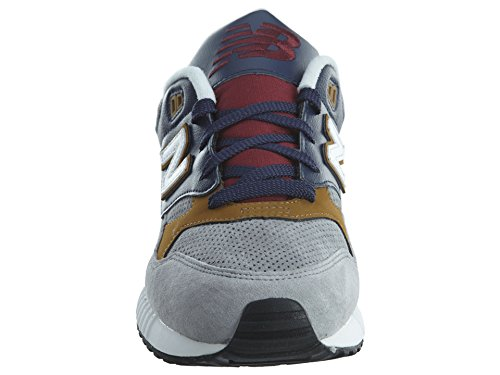 Woods 43 90s New eu Uomo Leather Scarpa stone Lifestyle Running Balance 530 Grey 1YwwUCaq
