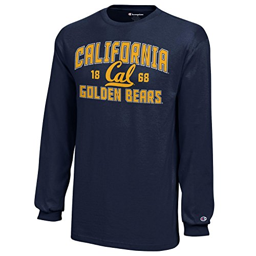 (NCAA Champion Boy's Long Sleeve Jersey T-Shirt California Golden Bears Medium)