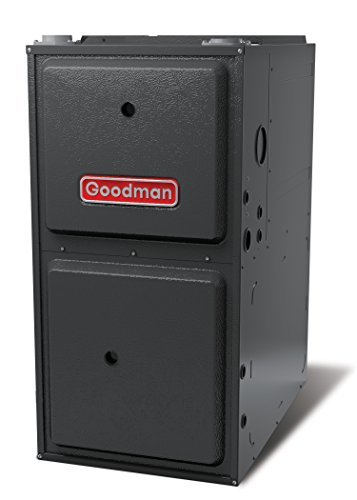 Goodman GMSS961205DN Single Speed 1-Stage Upflow/Horizontal Gas Furnace with Low Nox, 96% Afue, 120,000 Btu/H, 2,000 Cfm, 245