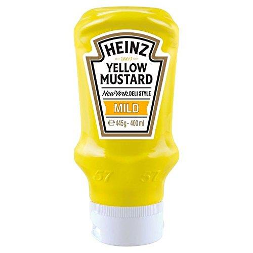 - Heinz Yellow Mustard Mild - 400ml (13.53fl oz)