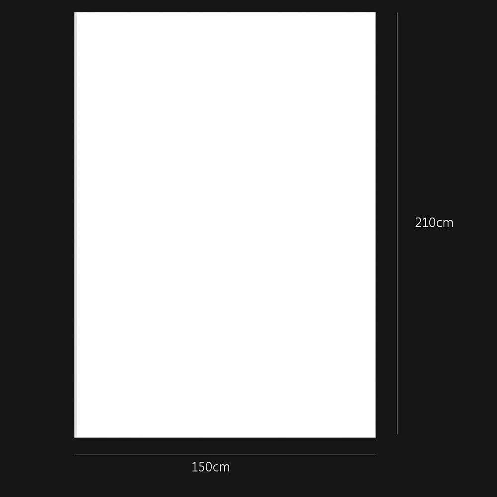 OMG/_Shop Photo Video Studio Vinyl Backdrop Background Screen Pure White Photography Studio 0.9m x1.5m 5 FT 3 FT
