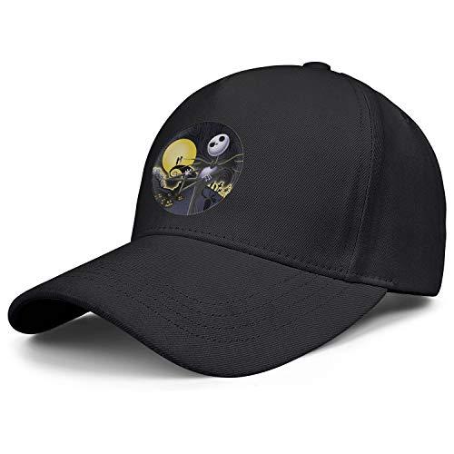 KSDMKK Mens Womens Nightmare-Before-Christmas-Plastic- Cap Retro Hats Athletic Caps ()