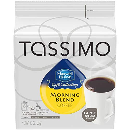 Tassimo Maxwell House Morning Blend Coffee T Discs (70 Count, 5 Packs of 14) (Best T Disc Flavors)