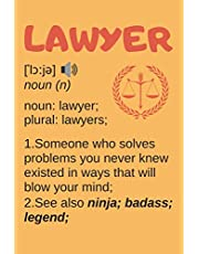 Lawyer Gifts: Blank Lined Notebook Journal Diary Paper, a Funny and Appreciation Gift for Lawyer to Write in (Volume 8)
