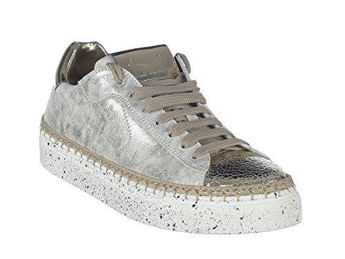 Crack Voile Platino Panarea Sneaker 9127 2018 Estate Lame Blanche Vit Donna Primavera Avorio Scarpe FqXqzArwU
