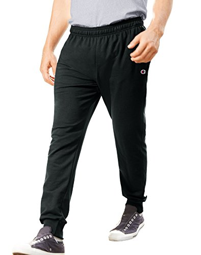 Champion Men's French Terry Jogger, Black, X-Large