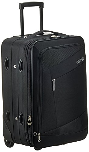 American Tourister Elegance Plus 55 cms Black Soft sided Suitcase (87W (0)...