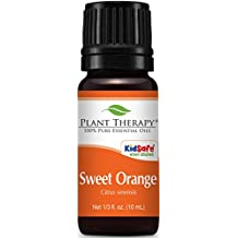 Plant Therapy Sweet Orange Essential Oil. 100% Pure, Undiluted, Therapeutic Grade. 10 ml (1/3 oz).