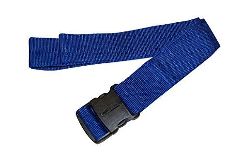 Skil-Care Econo Gait Belt, Delrin Buckle, Blue - 1/Each