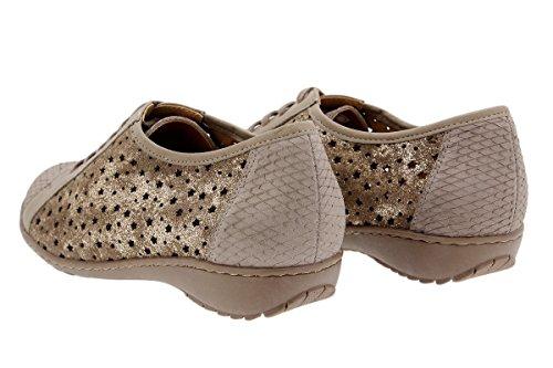 1752 PieSanto de Zapato Confort Calzado Piel Cord Mujer qZZxXOwnpT