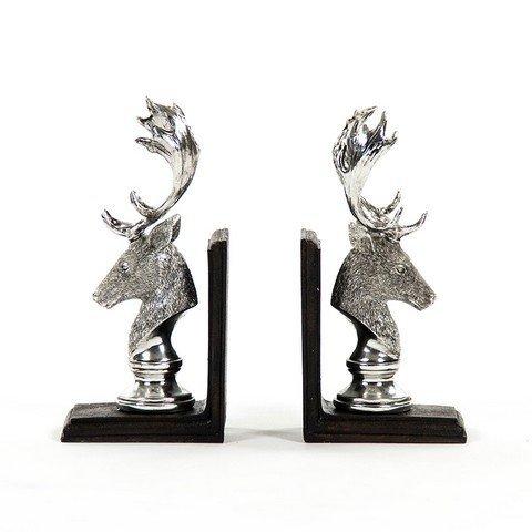 Zentique SHI026 Deer Head Bookends
