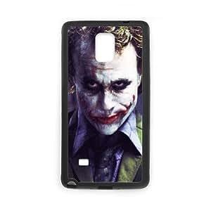 Samsung Galaxy Note 4 Cell Phone Case Black Be Serious Joker Batman Wallpaper LSO7838041