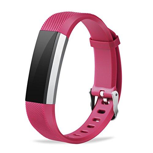 Winsenpro Fitbit Alta HR Bands, 12 Pack Replacement bands for Fitbit Alta and Alta HR, Large Small 12 different colors