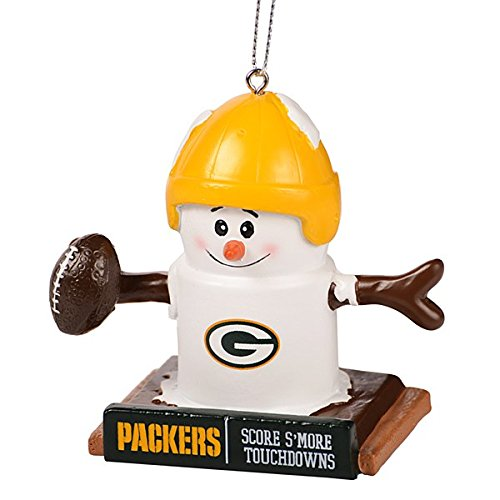 Green Bay Packers Thematic Smores Ornament