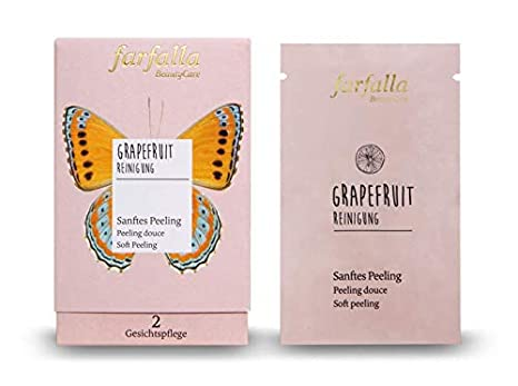 Farfalla - Limpieza de pomelo (exfoliante suave, trayectorio/dispensador, 7 ml)