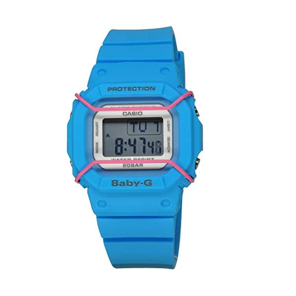 41R1 JuCmyL. SS600  - G-Shock Womens BGD501 Vintage Style Baby-G Series Stylish Watch - Blue / One Size