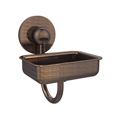 Allied Brass P1032-VB Prestige Skyline Collection Wall Mounted Soap Dish, Venetian Bronze
