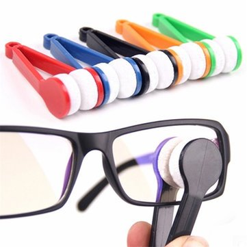 Tle - Home Cleaning Supplies - Microfiber Mini Sun Glasses Eyeglass Clean Brh Cleaner Cleaning Spectacles Tool Copse Eyeglass Spectacles Tool Glasses - - Monocle Sunglass