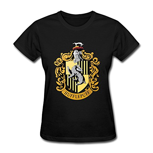 [AOPO Harry Potter Hufflepuff Badger Logo Tshirts For Women] (Book Week Costumes For Sale)