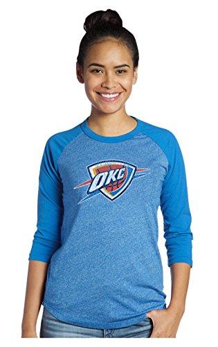 NBA Women's Premium Triblend 3/4 sleeve Raglan – DiZiSports Store