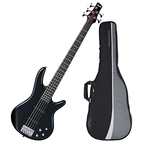 Ibanez GSR205BK 5-String Electric Bass (Black) w/ Gig Bag by Ibanez