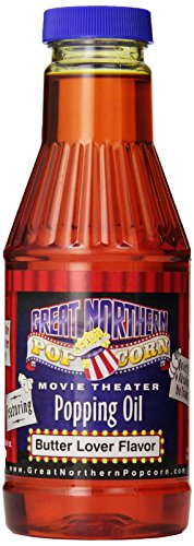 Great Northern Popcorn Premium Butter Flavored Popcorn Popping Oil, Pint '' by Great Northern Popcorn Company