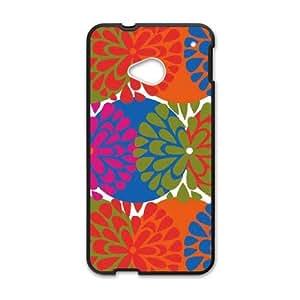 Flowerburst Robin Zingone HTC One M7 Cell Phone Case Black DIY gift pp001-6378493