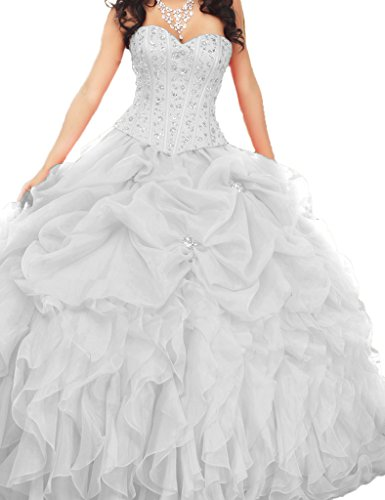 dresses for the damas in a quince - 1