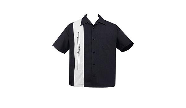 Steady Clothing - Camisa de bolera para hombre, diseño ...
