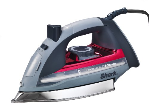 Shark Steam Iron, Red (Best Iron With Titanium Anti)