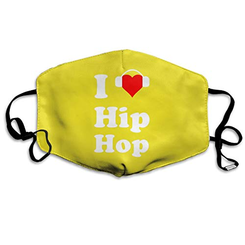 Mouth-Muffle Face Mask Unisex Love Hip Hop Adjustable Washable Anti-dust Woman Mens by Webb
