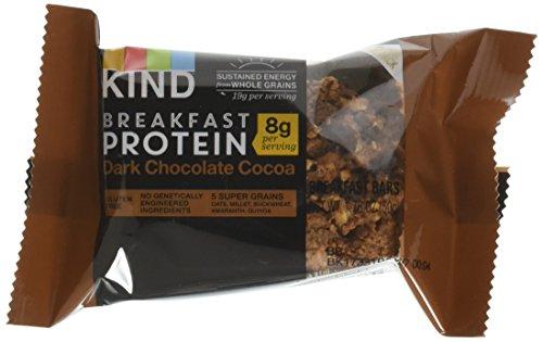 Kinder Chocolate Chips - Kind Breakfast Protein Bars Dark Chocolate, 1.76 oz