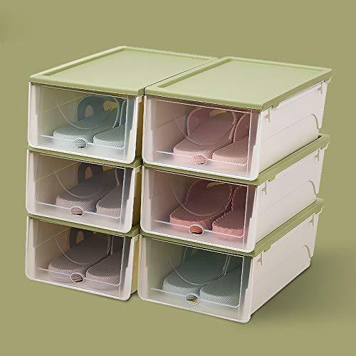 スライド収納ボックス 寝室 ポータブル収納 ボックスプラスチック 靴収納ボックス SR-84 (D) B07T3MZTX6 D