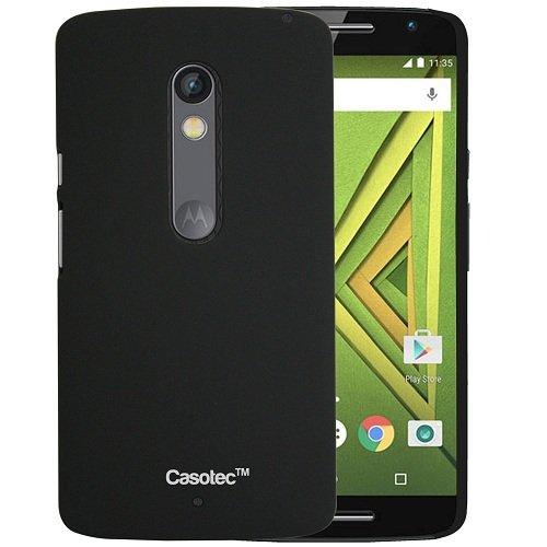 Casotec Back Cover for Motorola Moto X Style  Plastic_Black