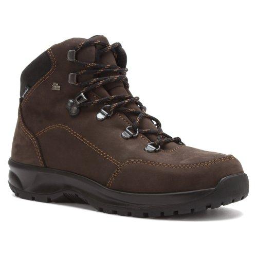 Finn Comfort Mens Tibet Leather Boots Slate