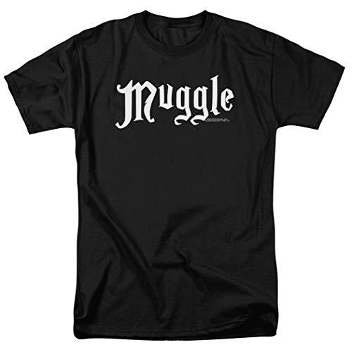 Harry Potter Black Muggle T Shirt & Exclusive Stickers (Medium)
