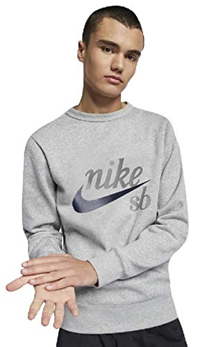 (Nike Mens SB TOP ICON Craft 938414-064_XL - DK Grey Heather/Obsidian)