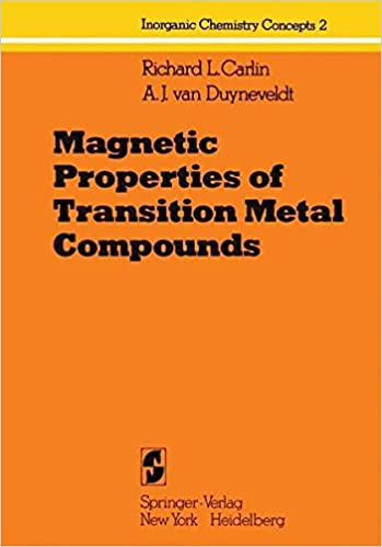 Magnetic Properties Of Transition Metal Compounds Inorganic