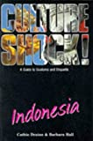 Front cover for the book Culture Shock! Indonesia by Cathie Draine
