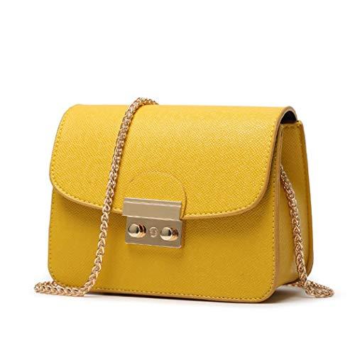 Amarillo al Bolso mujer hombro para Sabarry P0XSHBq