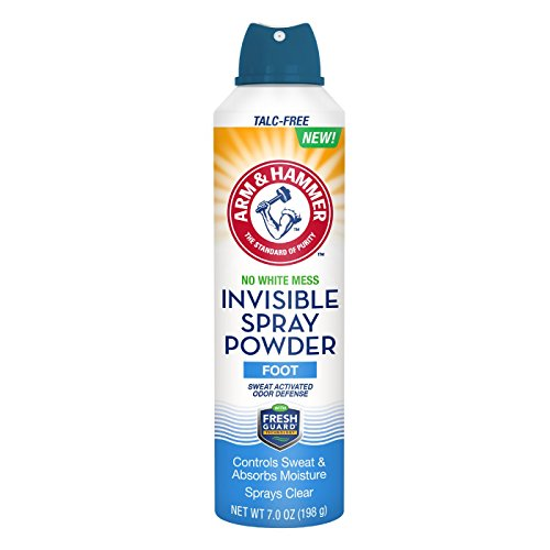 Arm & Hammer Invisible Spray Foot Powder 7.0 oz (Pack of 2)